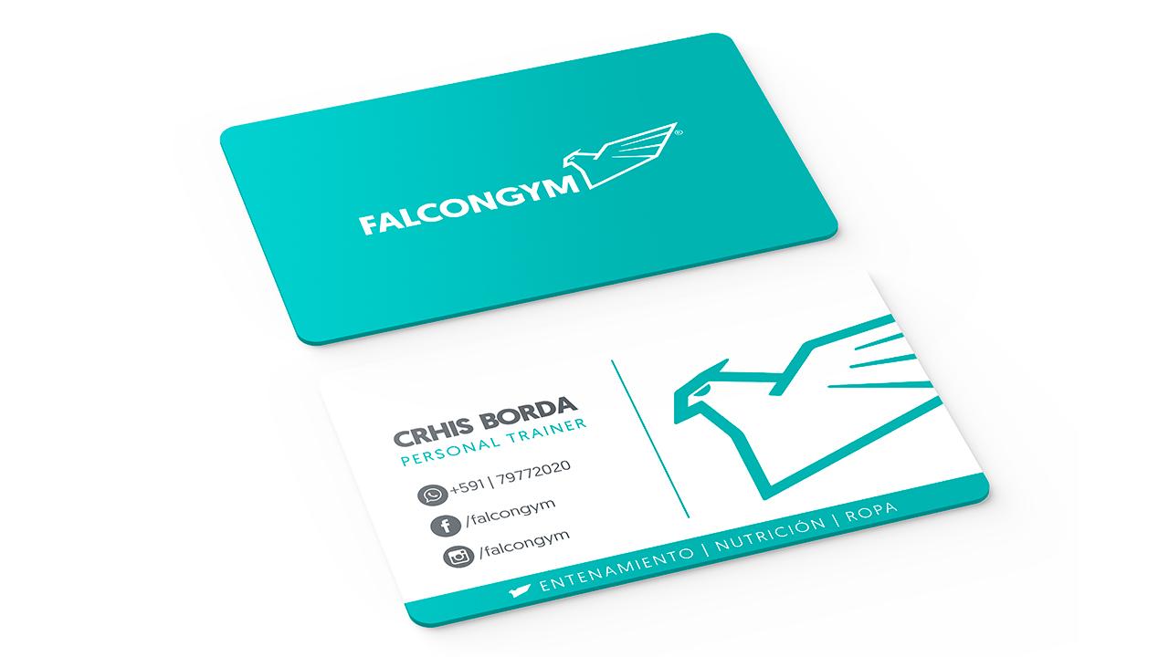 tarjeta personal falcongym